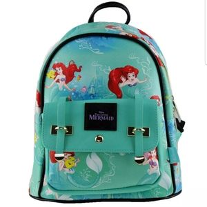 Little Mermaid Disney Backpack Ariel Cute